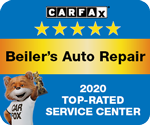 CarFax Top Rated Service Center